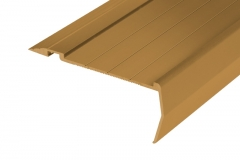 410 anodised sovereign gold stair nosing