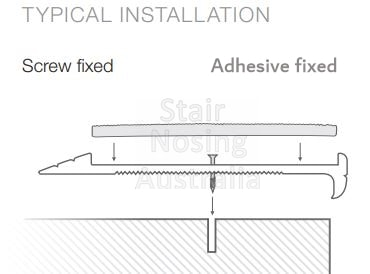 Perth Compliant stair nosing