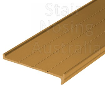 Recessed stair nosing